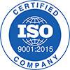 Сертифікат якості ISO-9001-2015